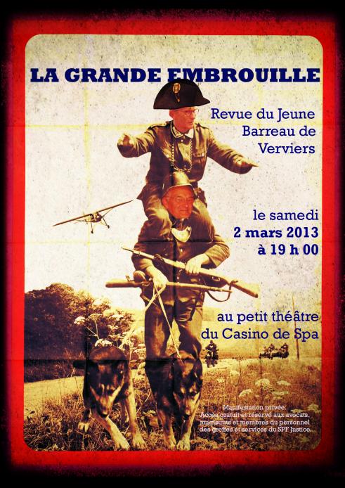 Affiche Revue 2013 - A3